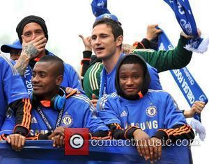Salomon Kalou and Frank Lampard