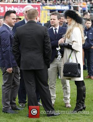 Anthony McPartlin and Declan Donelly aka Ant and Dec at Cheltenham  Horseracing - Cheltenham Festival - Day 1 Cheltenham,...