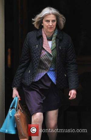 Home Secretary Theresa May Ministers leave after a meeting at 10 Downing Street London, England - 02.05.12