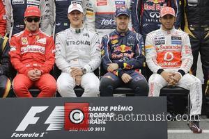 Fernando Alonso, Michael Schumacher, Sebastian Vettel, Lewis Hamilton, Brazilian Formula, Grand Prix and Interlagos