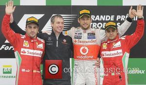 Fernando Alonso, Jenson Button, Felipe Massa, Brazilian Formula, Grand Prix and Interlagos