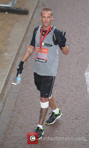 Calum Best The 2012 Virgin London Marathon London, England - 22.04.12