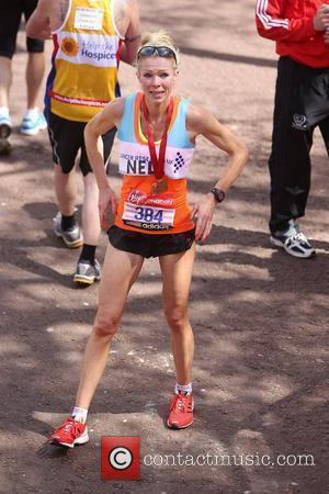 Nell McAndrew  The 2012 Virgin London Marathon London, England - 22.04.12