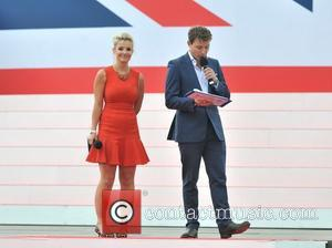 Helen Skelton, Ben Shepherd Team GB and Paralympics GB Parade held on the Mall-rehearsals. London, England - 10.09.12