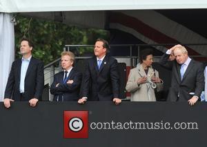Princess Anne, Boris Johnson, David Cameron and Prince Edward