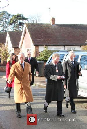 Prince Charles, Wales, Roe Parc and River Elwy