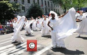National Puerto Rican Day Parade on the streets of Manhattan New York City, USA - 10.06.12