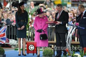 Queen Elizabeth Ii, Duchess, Kate Middleton and Prince Philip