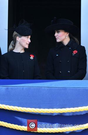 Sophie, Countess, Wessex, Catherine, Duchess, Cambridge and Kate Middleton