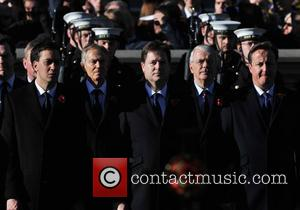 Ed Miliband, Tony Blair, Nick Clegg, John Major and David Cameron