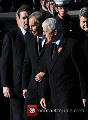 George Osborne, Tony Blair and John Major