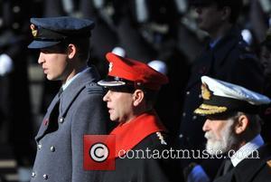 Prince William, Duke, Cambridge, Prince Edward, Prince Michael and Kent