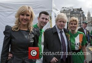Boris Johnson, Gemma Hayes and Trafalgar Square