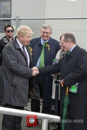 Boris Johnson and Trafalgar Square