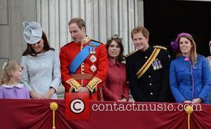 Kate Middleton, Prince Harry, Prince William and Princess Beatrice