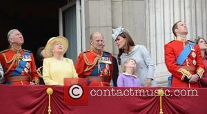 Prince Charles, Kate Middleton, Prince Philip, Prince William and Queen Elizabeth II