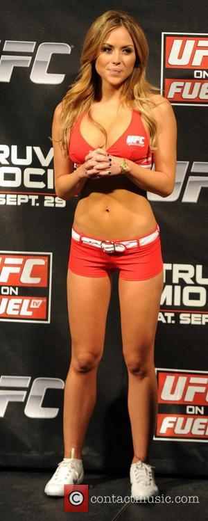 Brittney Palmer Ultimate Fighting Championships: UFC 27 weigh-in held the Capital FM Arena Nottingham, England - 28.09.12