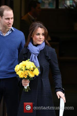 Prince William, The Duke, Cambridge, Kate Middleton, Duchess, King Edward, Hospital, Catherine and Monday