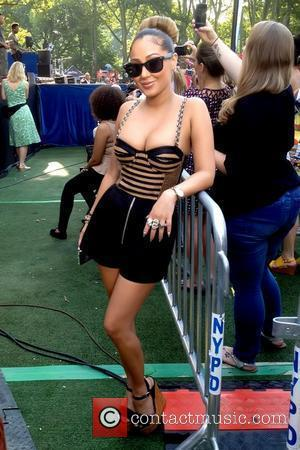 Adrienne Bailon and The Front