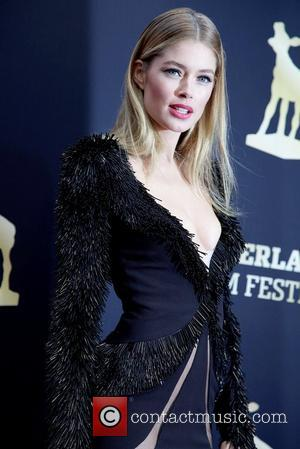 Doutzen Kroes Netherlands Film Festival - Gala Awards - Arrivals Utrecht, The Netherlands - 05.10.12
