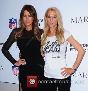 Melania Trump and Susan Johnson