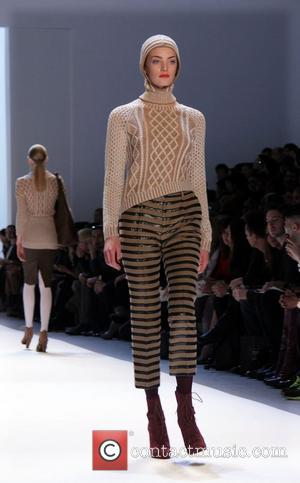 Model Mercedes-Benz Fashion Week Fall 2012 - Charlotte Ronson - Runway New York City, USA - 10.02.12
