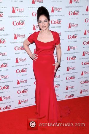 Gloria Estefan Heart Truth's Red Dress Fall 2012 Collection - arrivals New York City, USA - 08.02.2012
