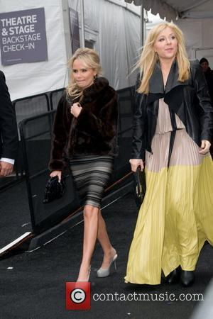 Kristin Chenoweth and Jennifer Aspen