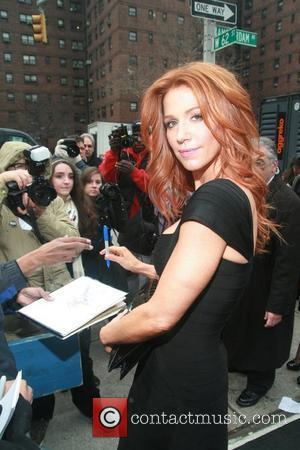 Poppy Montgomery Mercedes-Benz Fashion Week Fall 2012 - Herve Leger by Max Azria- Runway Show New York City, USA -...