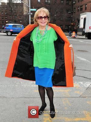Barbara Walters Mercedes-Benz Fashion Week - Fall 2012 - Diane Von Furstenberg - Outside Arrivals New York City, USA -...