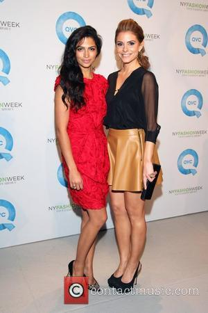 Camila Alves, Maria Menounos and New York Fashion Week