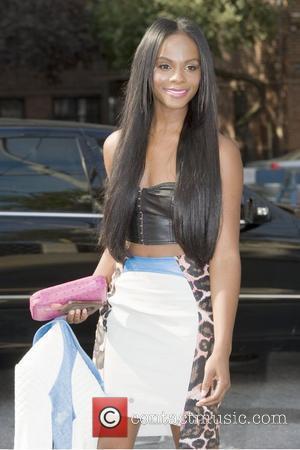 Tika Sumpter  Mercedes-Benz New York Fashion Week Spring/Summer 2013 - Rebecca Minkoff - Outside Arrivals   New York...