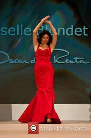 Giselle Blondet The Heart Truth Red Dress Collection 2012 - Runway New York City, USA - 08.02.2012