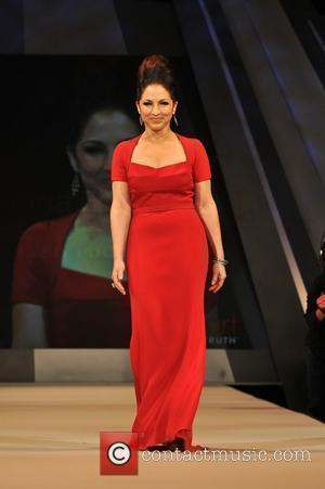 Gloria Estefan The Heart Truth Red Dress Collection 2012 - Runway New York City, USA - 08.02.2012