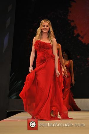 Rebecca Romijn The Heart Truth Red Dress Collection 2012 - Runway New York City, USA - 08.02.2012