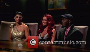 Aubrey O'Day, Teresa Giudice, Arsenio Hall NBC's 'The Celebrity Apprentice' Season 5, Episode 11 Jingle All The Way Home: Celebrities...