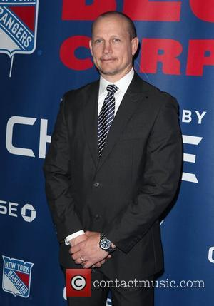 Adam Graves  The Blue Carpet presented by Chase for the opening night of the 2012 NHL Playoffs at Madison...