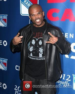 Darryl McDaniels  The Blue Carpet presented by Chase for the opening night of the 2012 NHL Playoffs at Madison...