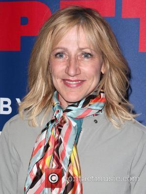 Edie Falco, Helmet and Madison Square Garden