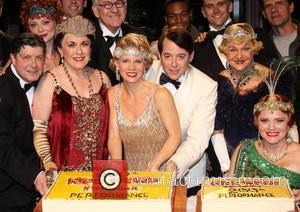 Michael Mcgrath, Kristen Beth Williams, Judy Kaye, Kelli O, Hara, Matthew Broderick, Grasan Kingsberry, Estelle Parsons, Jennifer Laura Thompson, Backstage, Broadway, Nice Work If You, Can Get It, Imperial Theatre. New York, City and Imperial Theatre
