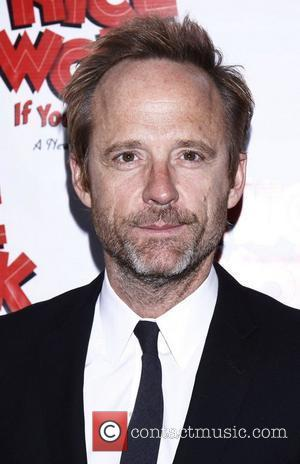 John Benjamin Hickey Broadway opening night of 'Nice Work If You Can Get It' at the Imperial Theatre – Arrivals...