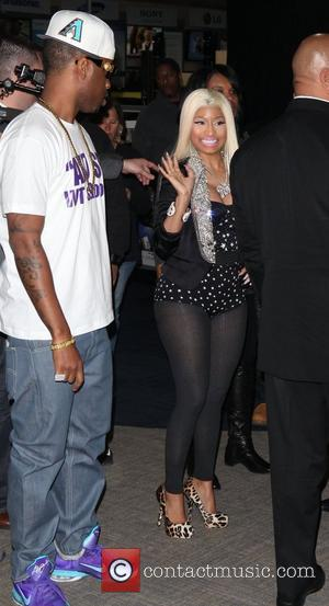 Nicki Minaj  Nicki Minaj attends a album signing for 'Pink Friday: Roman Reloaded' at Best Buy in Harlem New...