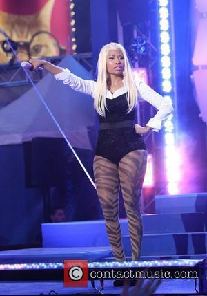 Nicki Minaj  The Nokia Lumia 900 launches at the Renaissance New York Times Square Hotel - Performance  New...