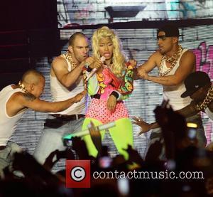 Nicki Minaj  performing live at Hisense Arena Melbourne, Australia - 18.05.12