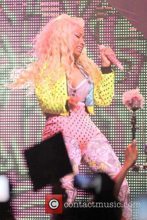 Nicki Minaj performs during the 'Pink Friday Tour' at the James L. Knight Center  Miami, Florida - 24.07.12