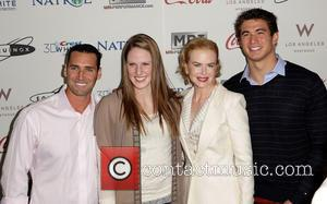 Missy Franklin, Nicole Kidman and Merrill Moses