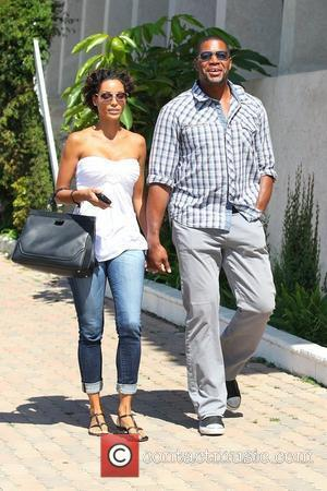 Nicole Murphy and Michael Strahan out and about at The Malibu Country Mart Los Angeles, California - 29.07.12