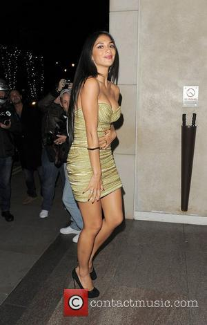 Nicole Scherzinger arriving back at her hotel. London, England - 07.10.12