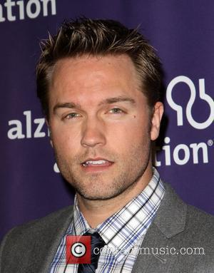 Scott Porter and Beverly Hilton Hotel