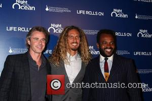 Sam Trammell, Rob Machado, Sal Masekela  The Life Rolls On foundation's 9th annual 'Night by the Ocean' gala at...